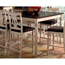 Square Dining Room Tables For 8 Shop Coaster Fine Furniture Camille Antique White Merlot Square