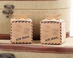 wedding dress boxes for travel travel theme favors etsy