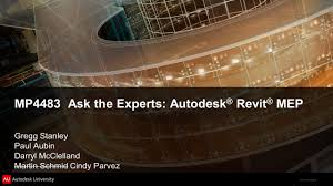 2011 autodesk mp4483 ask the experts autodesk revit mep gregg