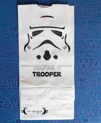 wars gift bags wars birthday party part ii party favors troopers