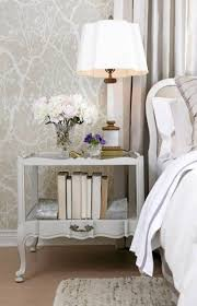 Shabby Chic Side Table Bedroom Bedside Table Dimensions Matching Nightstands Living
