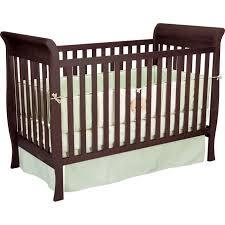 Convertible Sleigh Crib Delta Children Espresso Glenwood Convertible Sleigh Crib Using