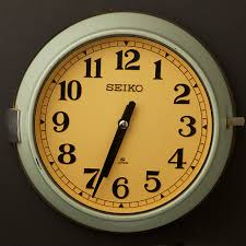 ship s seiko wall clock