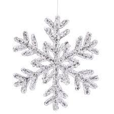 silver snowflake clipart clipartxtras