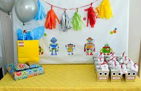 Mary Poppins Party Decorations Kara U0027s Party Ideas Robot Birthday Party Ideas Supplies Idea Cake
