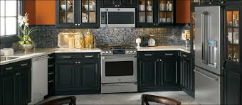 kitchen kitchen color schemes with wood cabinets gray stained