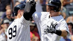 tyler austin aaron judge go back to back to spark yankees newsday