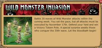 Backyard Monsters Wiki Wild Monster Invasion Backyard Monsters Wiki Fandom Powered By
