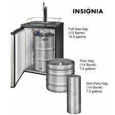 kegerator black friday insignia 5 6 cu ft stainless steel 1 tap beverage cooler