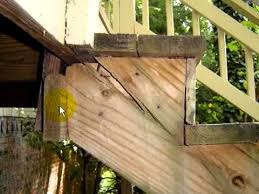 how to build design deck stairs youtube