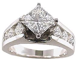 unique princess cut engagement rings unique princess cut ring