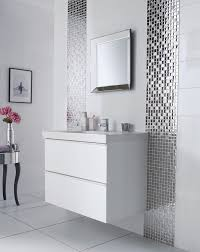 Black And White Bathroom Tile Ideas by Bathroom Tile Ideas Black Mixed White Round Glass Mosaic Tiles