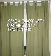 Window Curtain Tension Rod Best 25 Tension Rod Curtains Ideas On Rods Curtain And