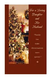 daughter u0026 her husband greeting card christmas printable card