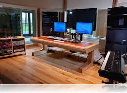 recording studio desk designs home plan cool uncategorized
