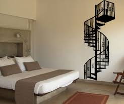 vinyl wall decal sticker spiral staircase osmb606s