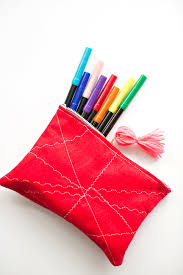 pencil pouches 8 and easy diy pencil pouches to ring iin back to school