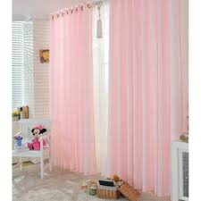 Rose Colored Curtains Light Pink Color Curtain Provides You Dreamy Room Style