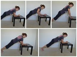 home workouts u2013 10 moves you can do with an ikea table man bicep