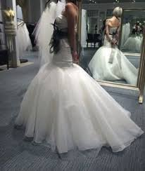 white by vera wang fit and flare wedding dress style vw351169