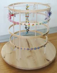 how to make an earring holder for studs we made it revolving earring organiser the nocturnal lecturer