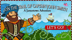Interactive World Map For Kids by On The Trail Of Captain John Smith