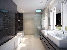 Modern Bathroom Pics Modern Bathroom With Bright Theme Quecasita