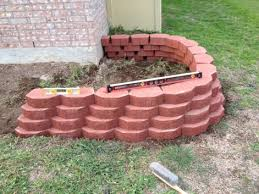 retaining wall blocks not alligning up landscaping u0026 lawn care