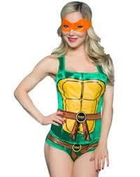 Halloween Ninja Turtle Costume Teenage Mutant Ninja Turtles Women U0027s Costume Romper