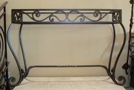 Metal Console Table Potter Art Metal Studios Wrought Iron Console Table