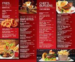 bar menus burger bar menu design bar menu pinterest burger