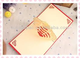 custom card template 3d heart pop up card template pdf free