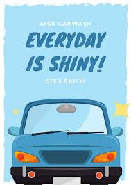 car wash flyer template free u0026 premium templatescar wash flyer