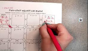 equation maze youtube