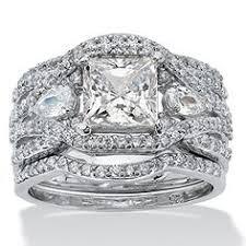 highway wedding band 1 00ct tcw wedding ring set in 18k two tone gold trio set