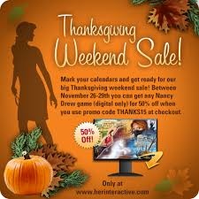thanksgiving sale 2015 interactive