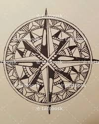 compass tattoo design tattoosk