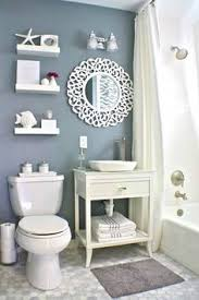 decorating ideas for small bathrooms small bathroom makeover navy paint hale navy and small bathroom