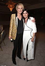 sharon stone and selma blair bring the glamour at mothers and