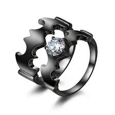 batman wedding ring batman wedding ring with diamond batman wedding ring set