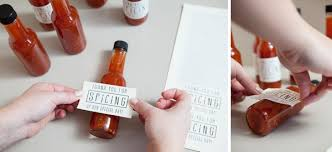 wedding favors diy how to make your own hot sauce wedding favors