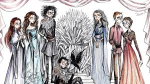 artist creates oddly beautiful of thrones tim burton