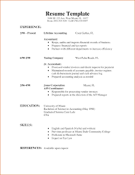 Junior Accountant Sample Resume by Glamorous Teen Resume Examples