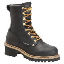 womens steel toe work boots near me s 8 waterproof logger boots ca420 ca1420