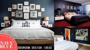 navy blue bedroom design ideas youtube