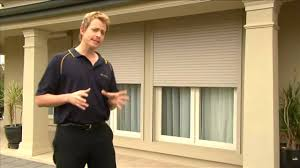 6 window roller shutters by australian outdoor living youtube
