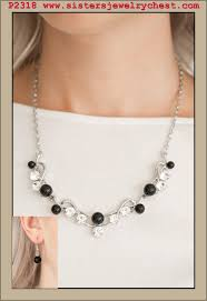 knot tie necklace images Tie the knot black paparazzi accessories jpg