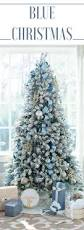 Home Goods Christmas Decorations Blue Christmas Decorating Ideas A Tour Of Our Home Blue