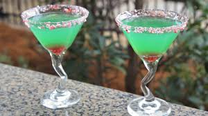 martini ingredients how to make a grinch martini holiday drink recipe youtube