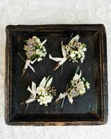 boutonnieres for wedding 64 boutonnières you both will martha stewart weddings